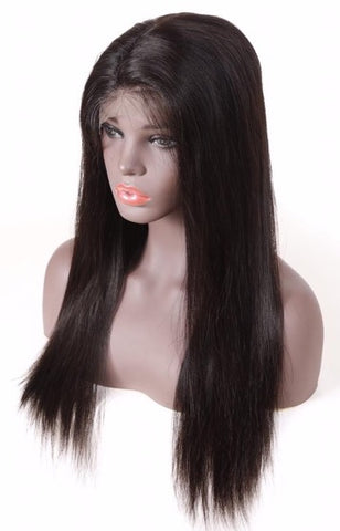 Full Lace Wig: Straight (Black)