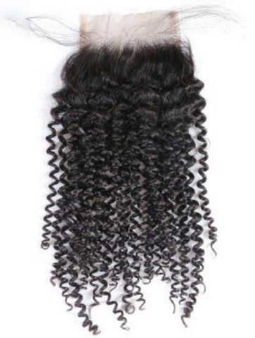 Lace Closure: Kinky Curly