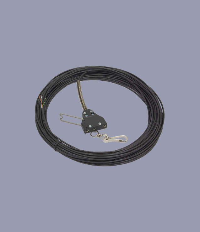 Favero Reel Cable with Fencer-end Socket