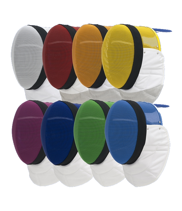 Uhlmann FIE Epee Mask Coloured Remov. Padd.