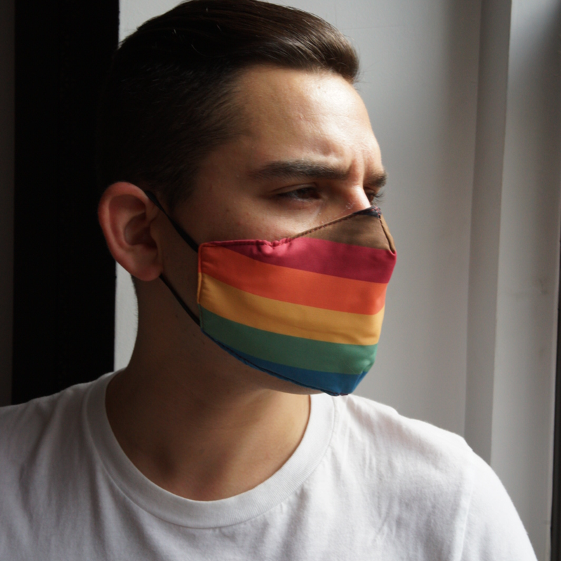 Rainbow Face Mask (Misprint)