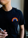 The Classic Rainbow Embroidered T-Shirt