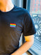 Rainbow Flag Embroidered T-Shirt