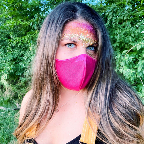 Paint the Town Pink Face Mask