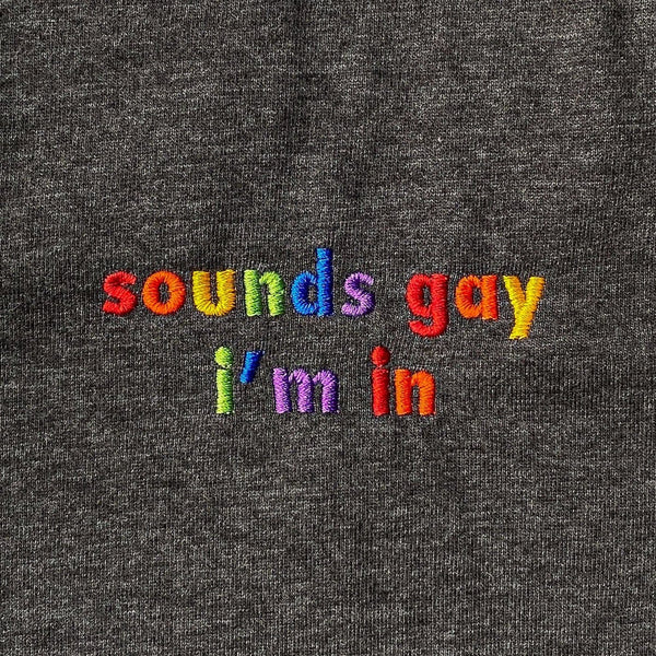 Sounds Gay Im In Sweatshirt