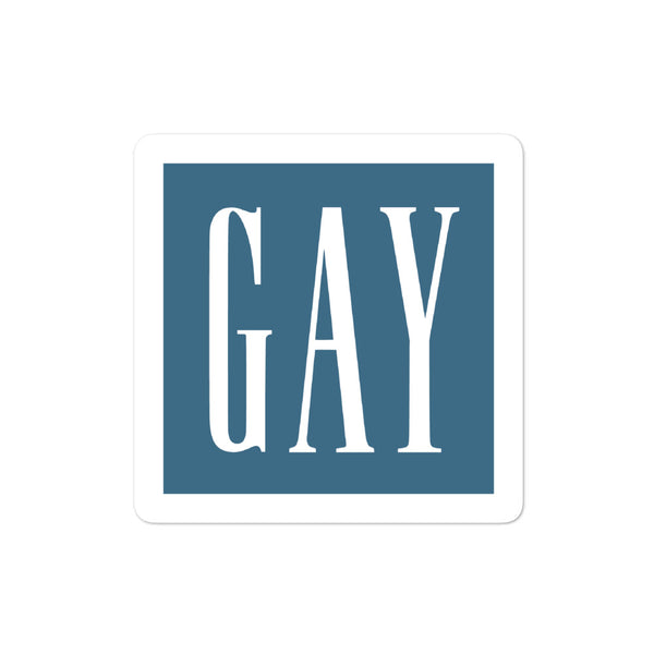 Gay Gap Stickers