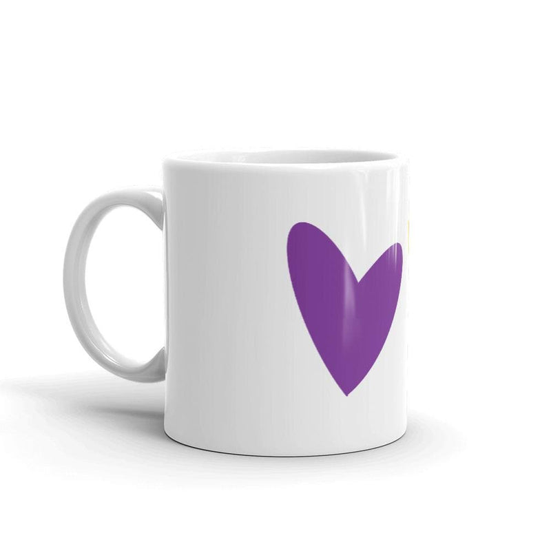Intersex Hearts Mug