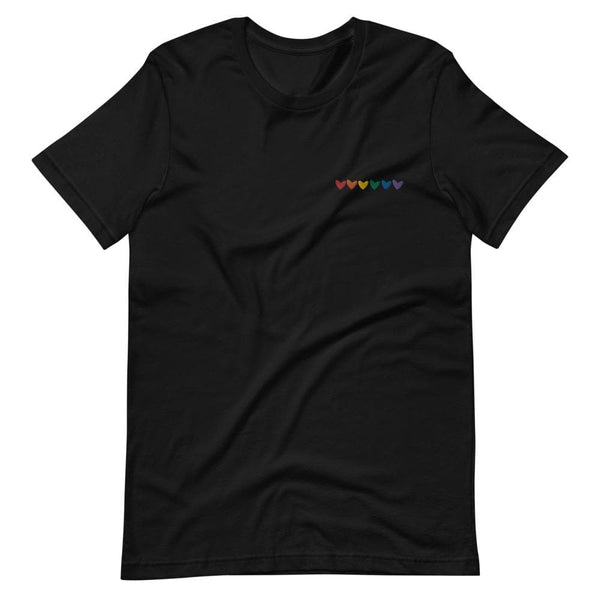 Queer Hearts Embroidered T-Shirt