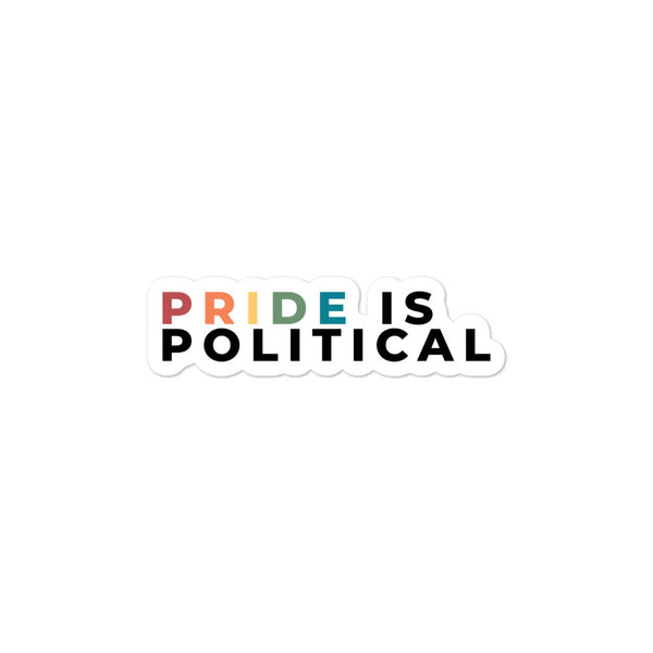 Pride is Political Stickers