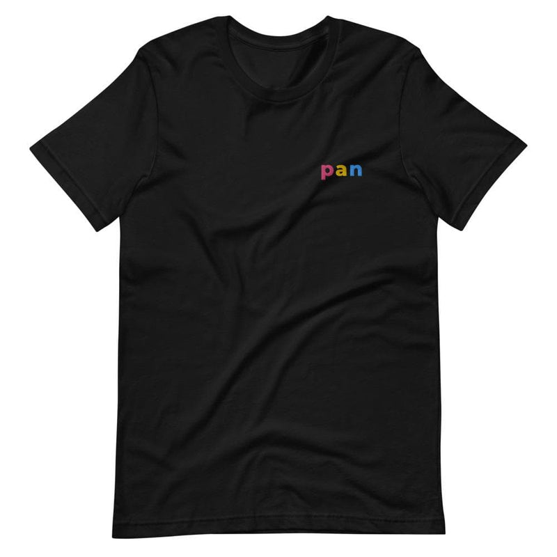 Pan Pride Embroidered T-Shirt