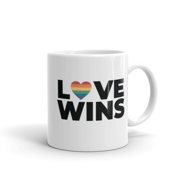Love Heart Wins Mug