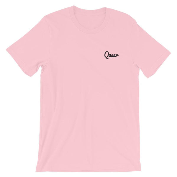 Queer Embroidered T-Shirt