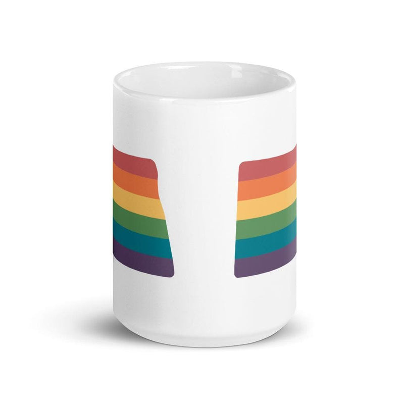 North Dakota Rainbow Mug
