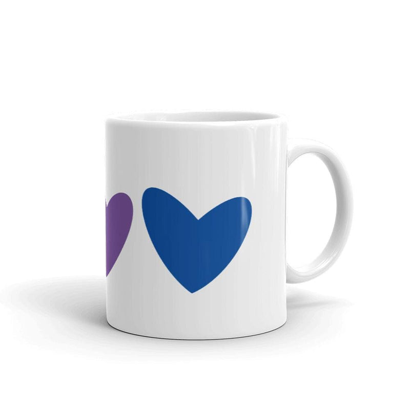 Bisexual Hearts Mug