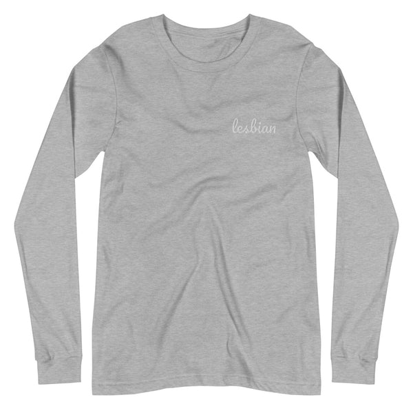Lesbian Embroidered Long Sleeve