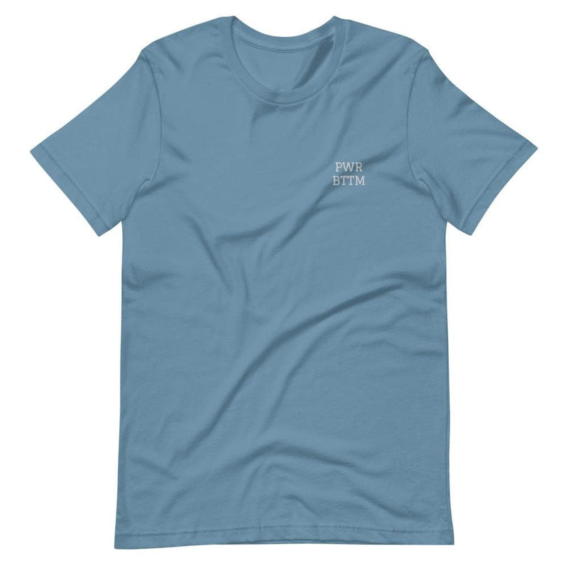 PWR BTTM Embroidered T-Shirt