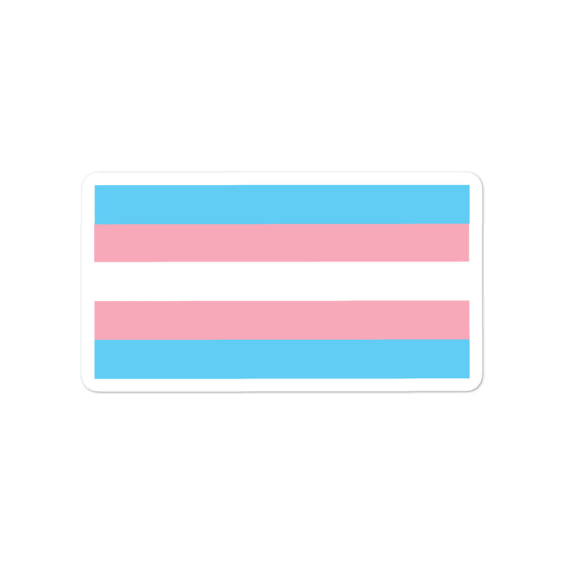 Trans Flag Stickers