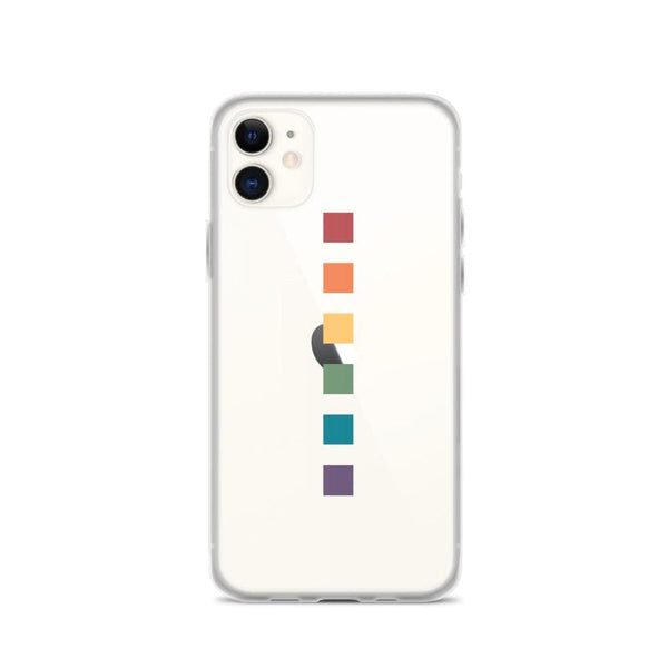 Rainbow Squares iPhone Case