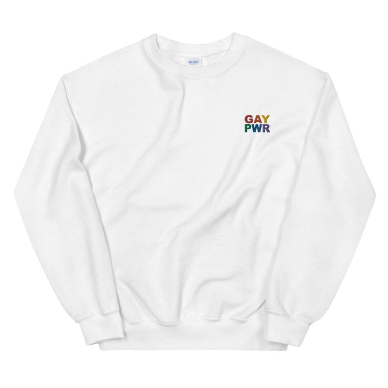 GAY PWR Embroidered Sweatshirt