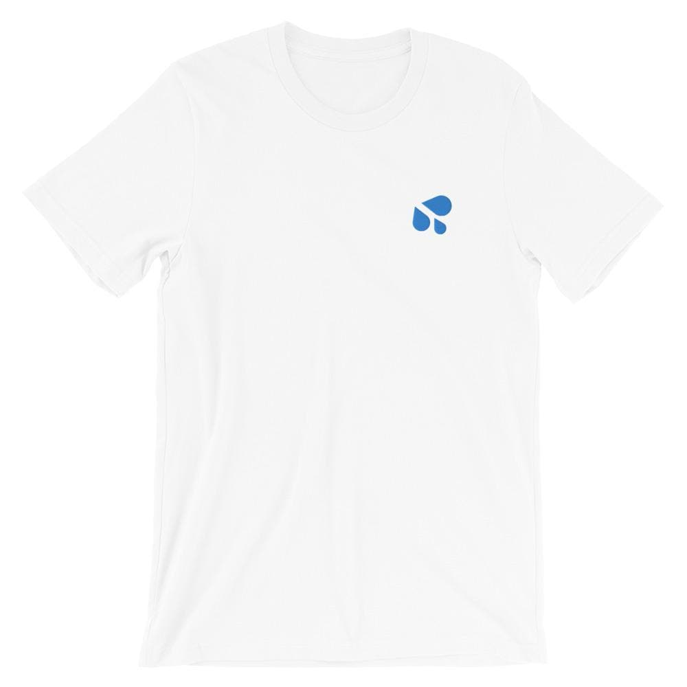 Drip Drip Emoji Embroidered T-Shirt