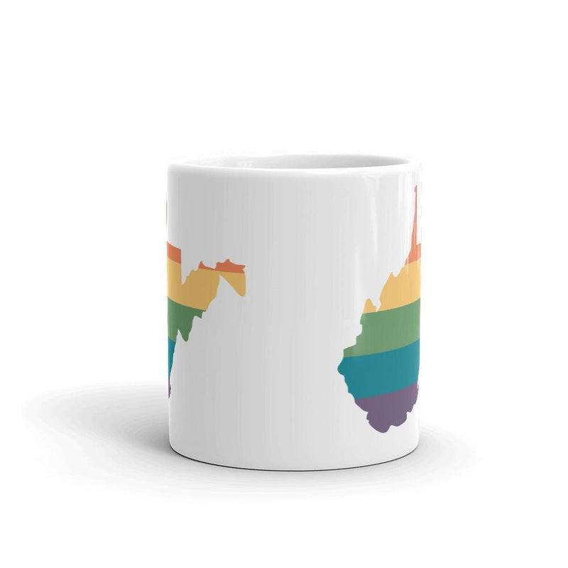 West Virginia Rainbow Mug