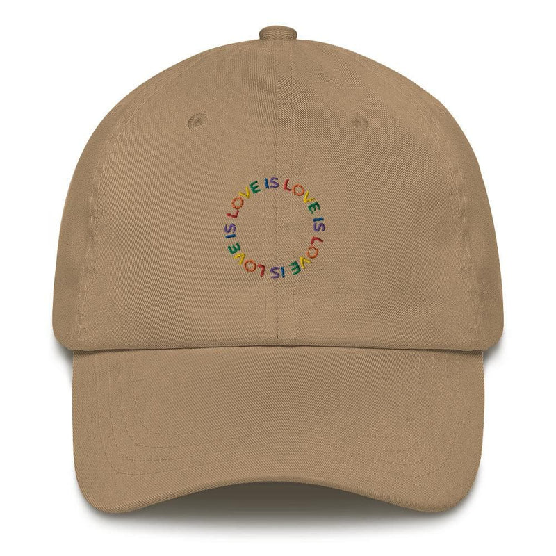 Love is Love Dad Hat