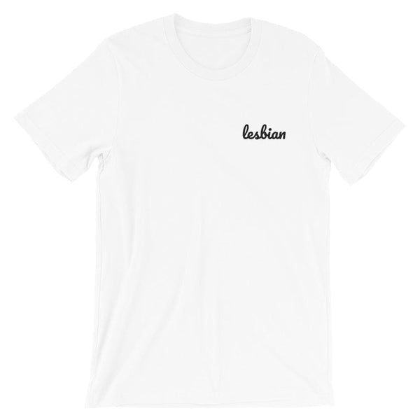 Lesbian Embroidered T-Shirt