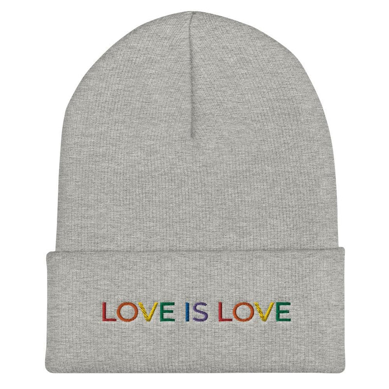 Love is Love Cuffed Beanie