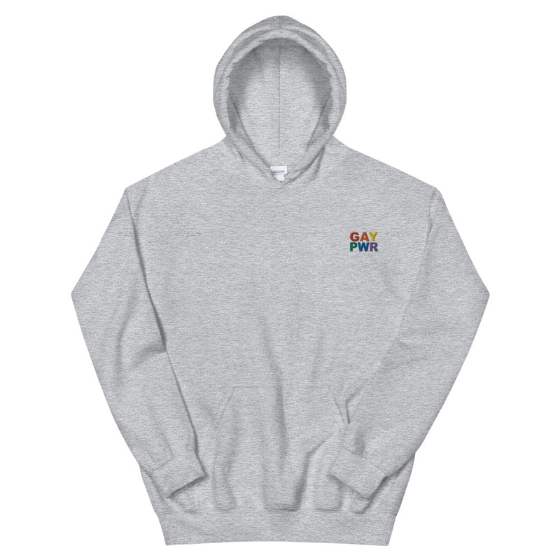 GAY PWR Embroidered Hoodie
