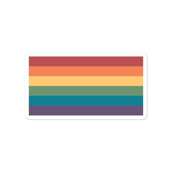 Gay Flag Stickers
