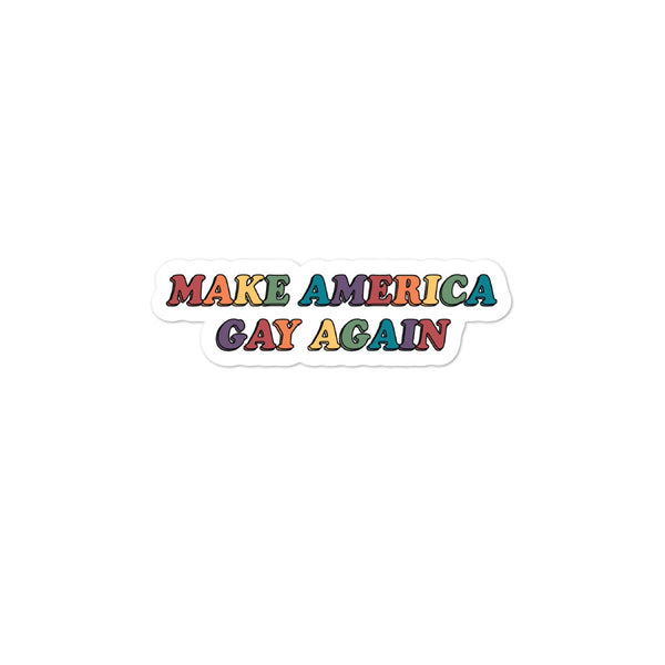 Make America Gay Again Stickers