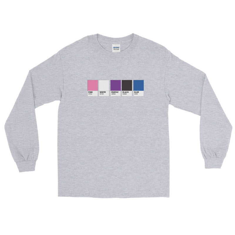 Genderfluid Colors Long Sleeve