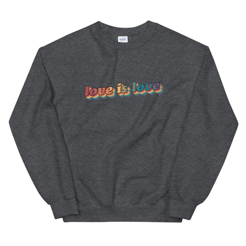 Retro Love is Love Sweatshirt