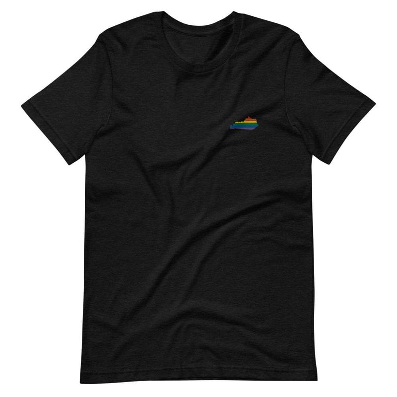 Kentucky Rainbow Embroidered T-Shirt