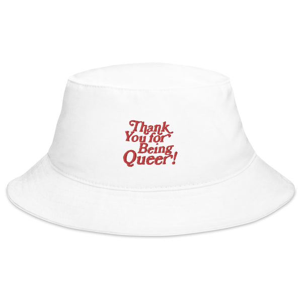 Thank You For Being Queer Bucket Hat