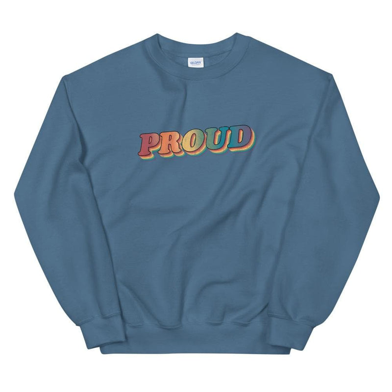 Retro Proud Sweatshirt