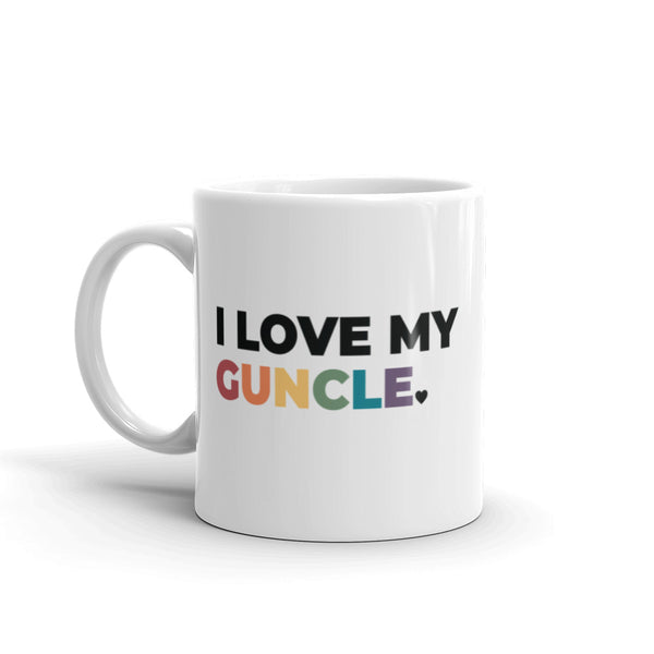 I Love My Guncle Mug