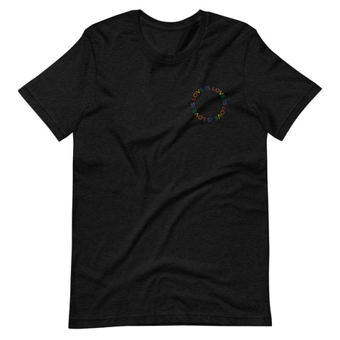 Love is Love Embroidered T-Shirt