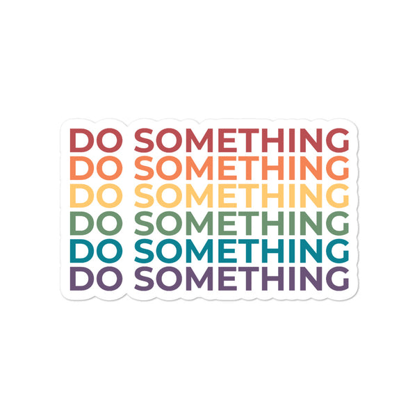 Do Something Stickers