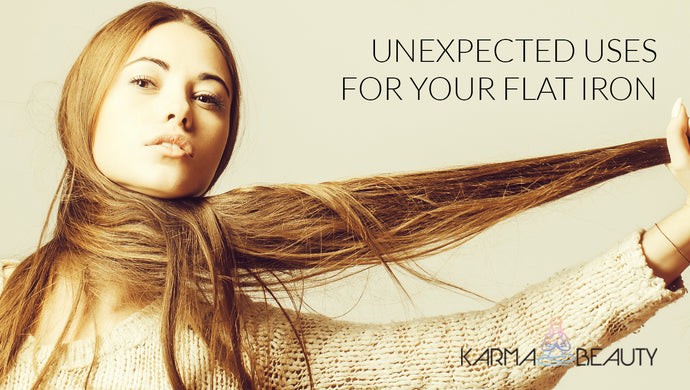 Unexpected Uses For Your Flat Iron