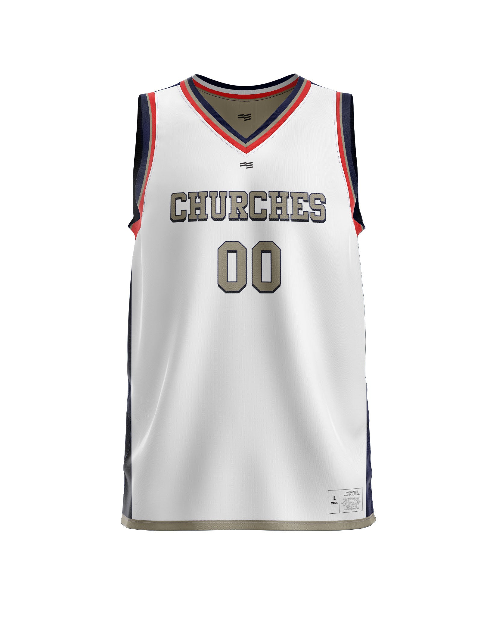 Churches Reversible Jersey - Mens