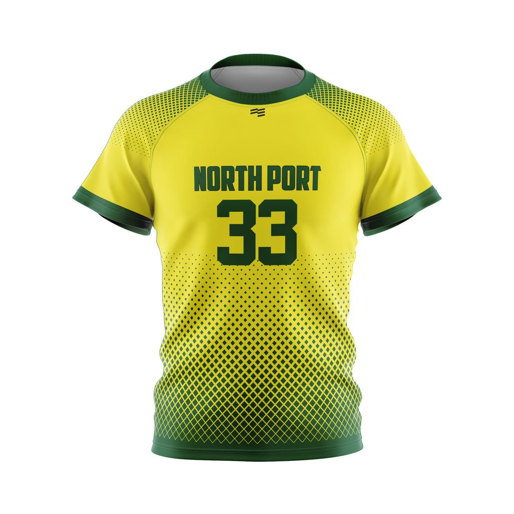 North Port Raglan Soccer Jersey - Mens
