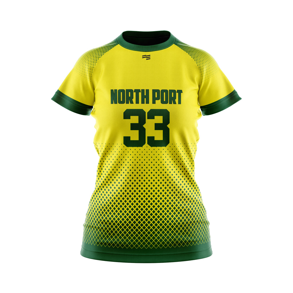 North Port Raglan Soccer Jersey - Womens