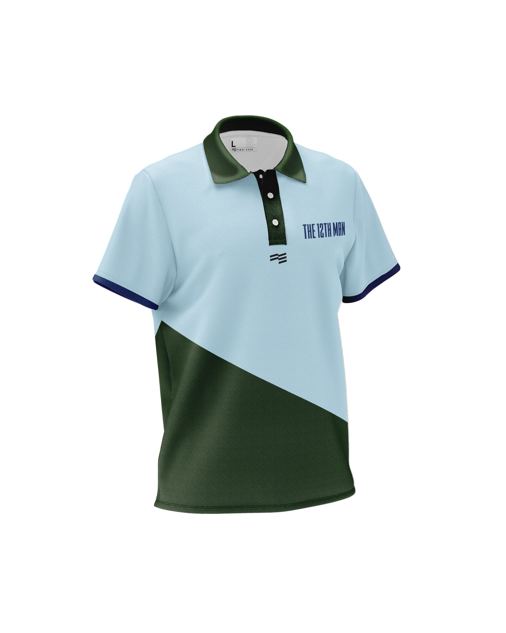 12th Man Cricket Polos - Mens
