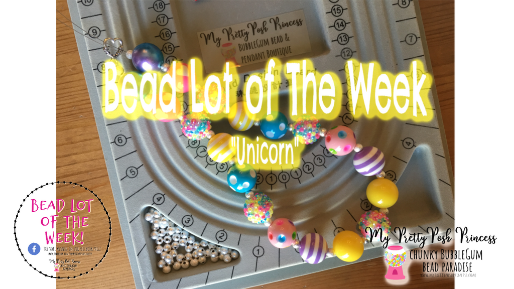 Unicorn Bead Lot of the Week 7/9 - 7/14 *New Video!