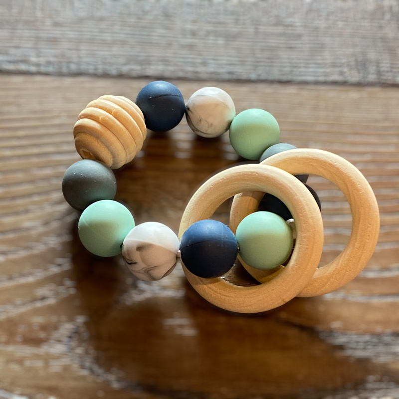 How to Make a Silicone Rattle Ring
