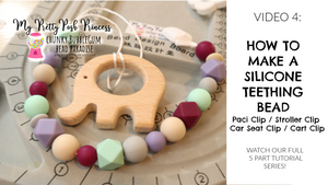 How to Make a Silicone Paci (or Toy) Clip