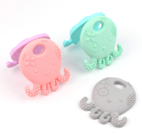 Octopus Size 100*52MM Silicone BPA Free Teething/Sensory  Pendant Size: 85*45*12mm *Choose Color