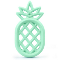 Pineapple Silicone BPA Free Teething/Sensory Pendant Size: 85*45*12mm *Choose Color