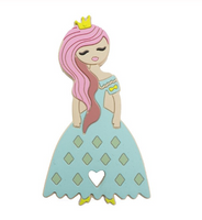 Fairy Tale Collection Silicone BPA Free Teething/Sensory Pendant SKU: SP3 & SP4 *Choose Color